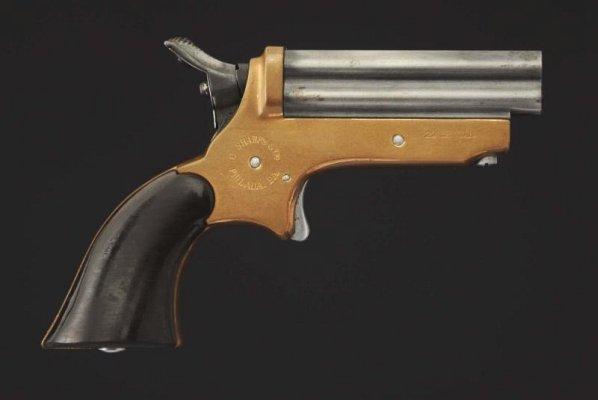Sharps 1859 .22 Cal Pistol. **