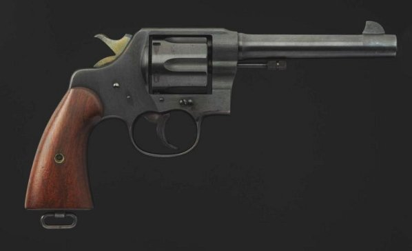 Colt Model 1917 .45 cal. Revolver**.