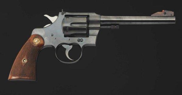 Colt Officers Model .22 cal. Revolver.