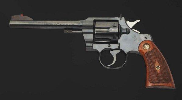 Colt Officers Model .22 cal. Revolver. - 2