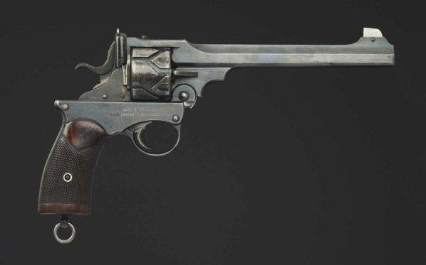 Webley-Fosbery .455 Automatic Revolver**.