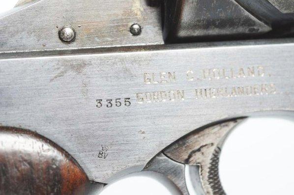 Webley-Fosbery .455 Automatic Revolver**. - 3