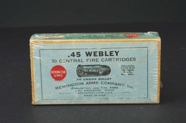 Webley-Fosbery .455 Automatic Revolver**. - 8