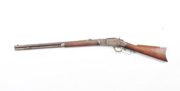 Winchester Model 1873 .22 Short Rifle. - 2