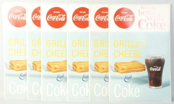6 Coke with Grilled Cheese Display Packets.