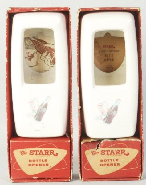 Lot of 2: Coca-Cola Bottle Openers in Boxes.
