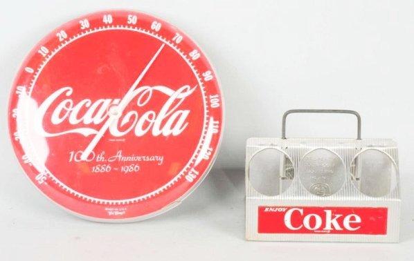 Lot of 3: Coca-Cola Advertising Pieces.