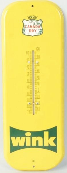 Wink Canada Dry Thermometer.