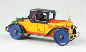 Marx Tin Litho Wind-up Royal Coupe Automobile Toy