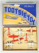 Tootsietoy Planes Set No7500