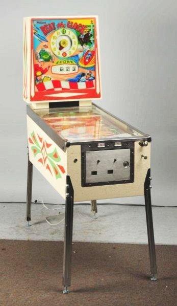 William's Beat the Clock Pinball Machine (1963).