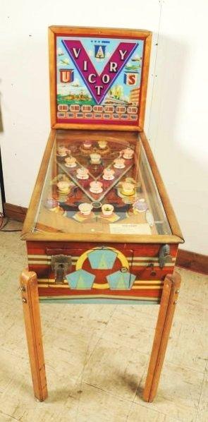 Genco Victory Pinball Machine (1941). - 2