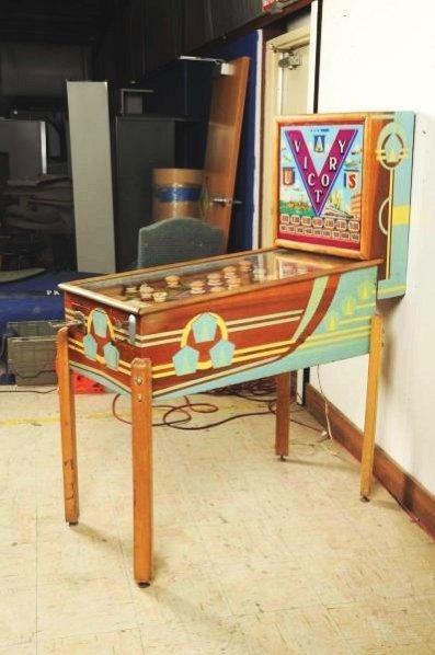 Genco Victory Pinball Machine (1941). - 5