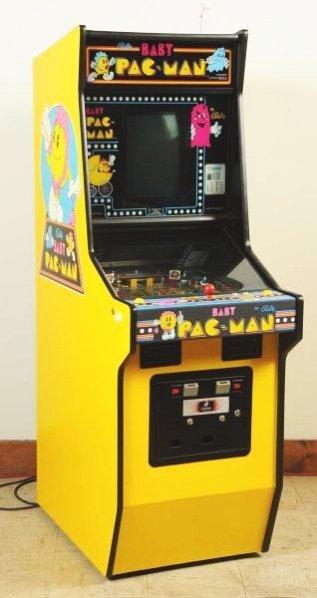 Bally Baby Pac Man Pinball Machine (1980).