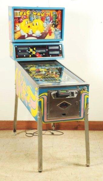 Bally Mr. & Mrs. Pac Man Pinball Machine (1982).
