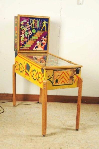 Williams Perky Pinball Machine (1957).