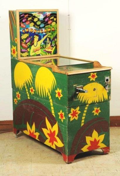 United Tropicana Pinball Machine (1948).