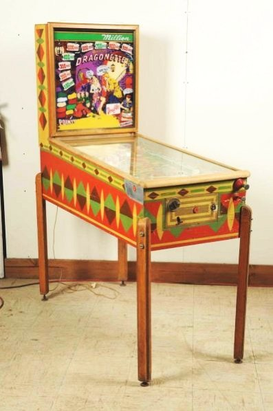 Gottlieb Dragonette Pinball Machine (1954).