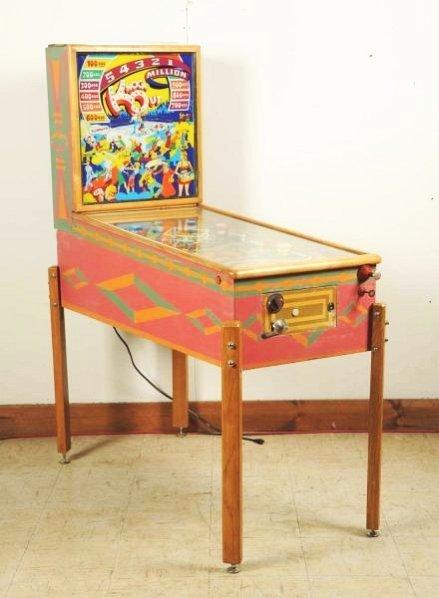 Gottlieb Knock-Out Pinball Machine (1950).