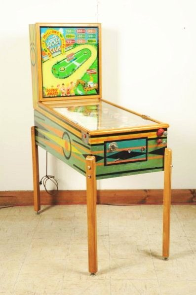 Gottlieb Jockey Club Pinball Machine (1954).