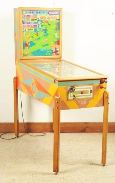 Gottlieb Green Pastures Pinball Machine (1954).