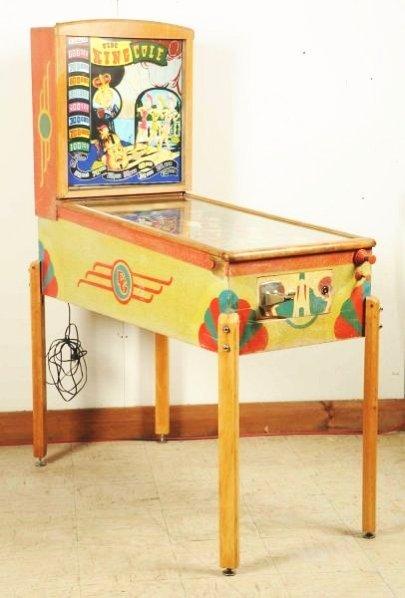 Gottlieb King Cole Pinball Machine (1948).