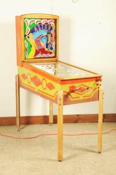 Gottlieb Alice in Wonderland Pinball Machine.