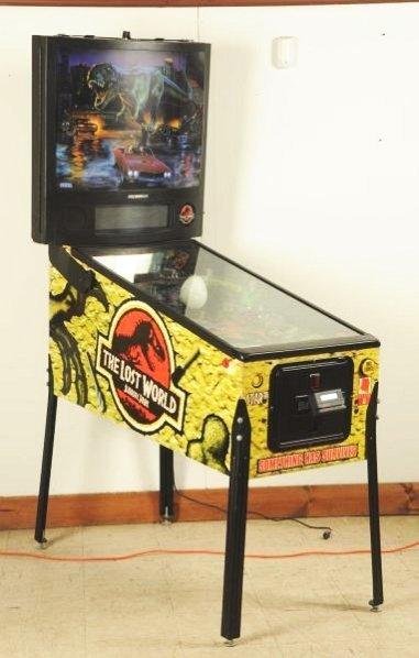 Sega Jurassic Park The Lost World Pinball Machine