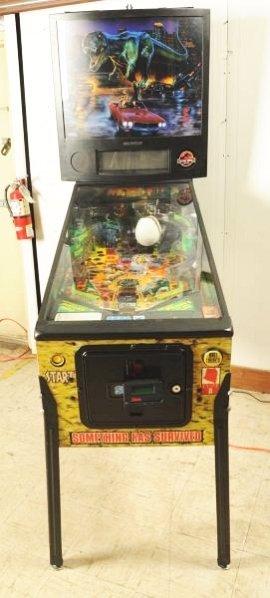Sega Jurassic Park The Lost World Pinball Machine - 2