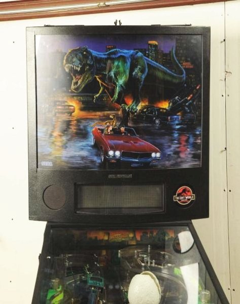 Sega Jurassic Park The Lost World Pinball Machine - 3