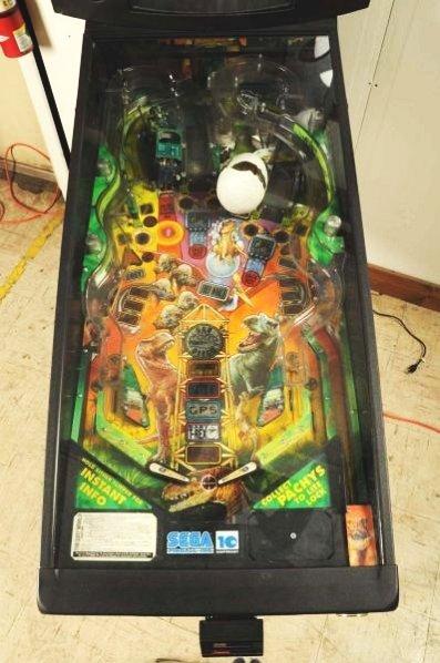 Sega Jurassic Park The Lost World Pinball Machine - 4