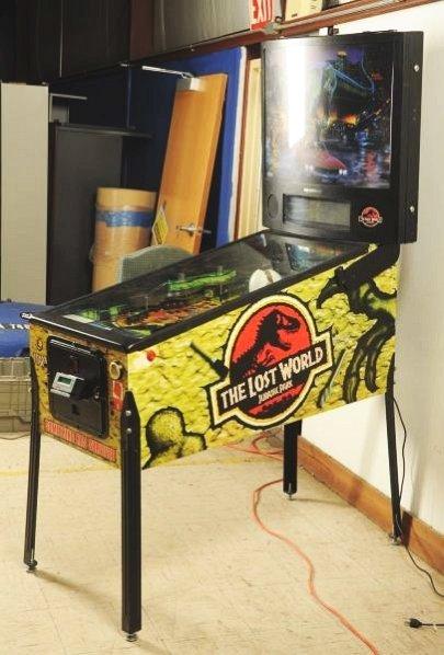 Sega Jurassic Park The Lost World Pinball Machine - 5