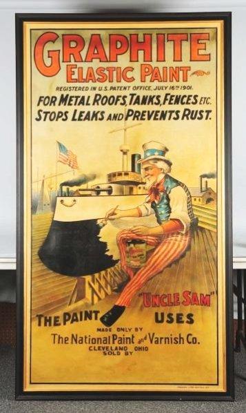 Graphite Paint Large & Impressive Paper Poster.