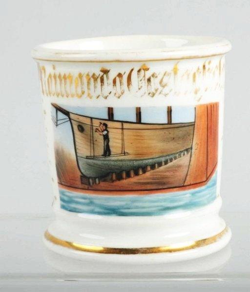 Ship Builders Shaving Mug.