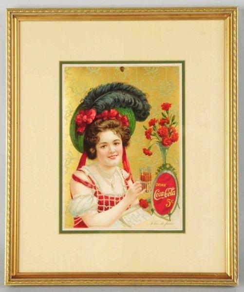 1902 Beautiful Coca-Cola Calendar Top.