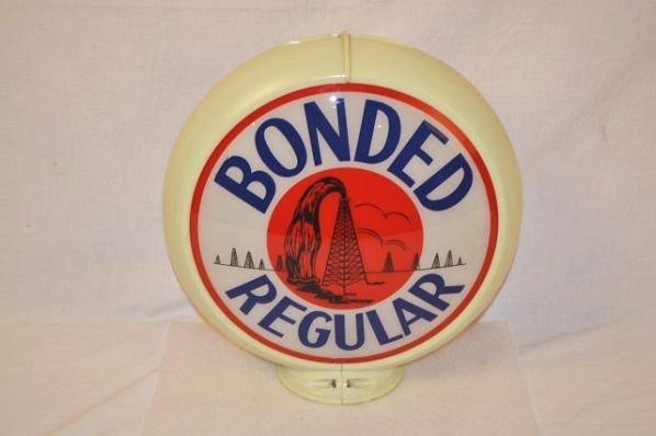 Rare Bonded Regular with Oil Derrick Graphics.
