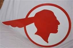 Pontiac Full Feather Indian Profile
