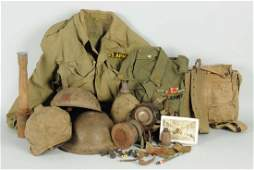Large Lot of WWI Items.