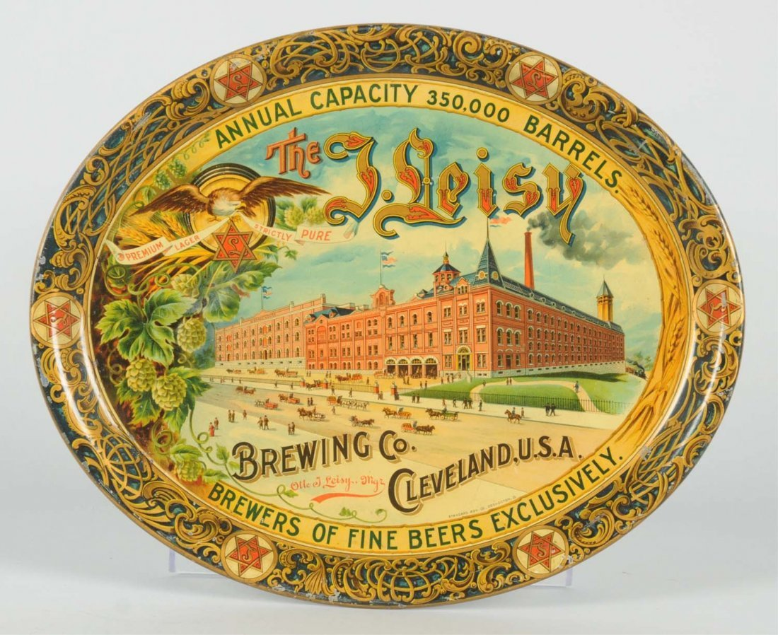 The J. Leisey Brewing Co. Serving Tray.
