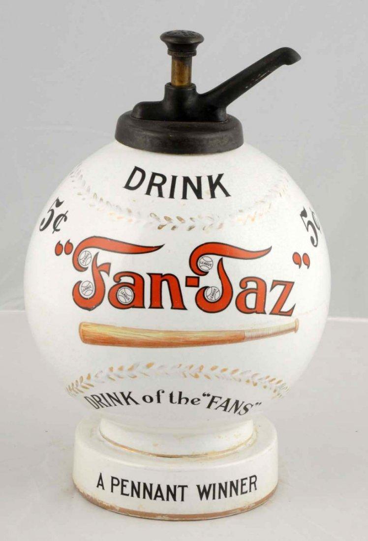 Fan-Taz Syrup Dispenser.