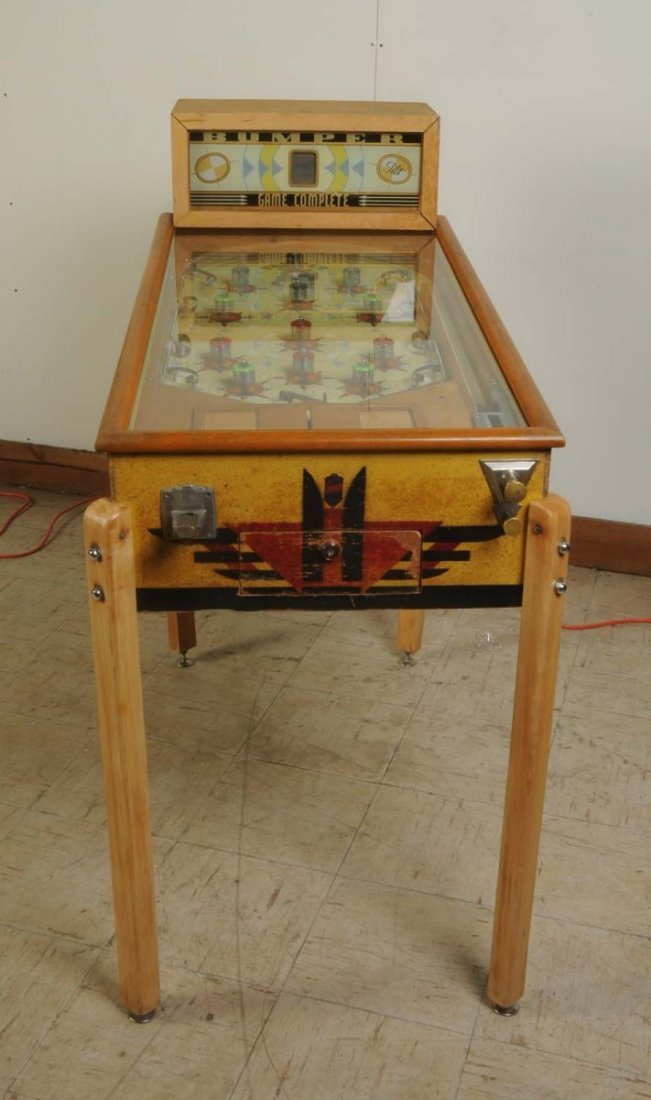 Bumper Bally Pinball Machine