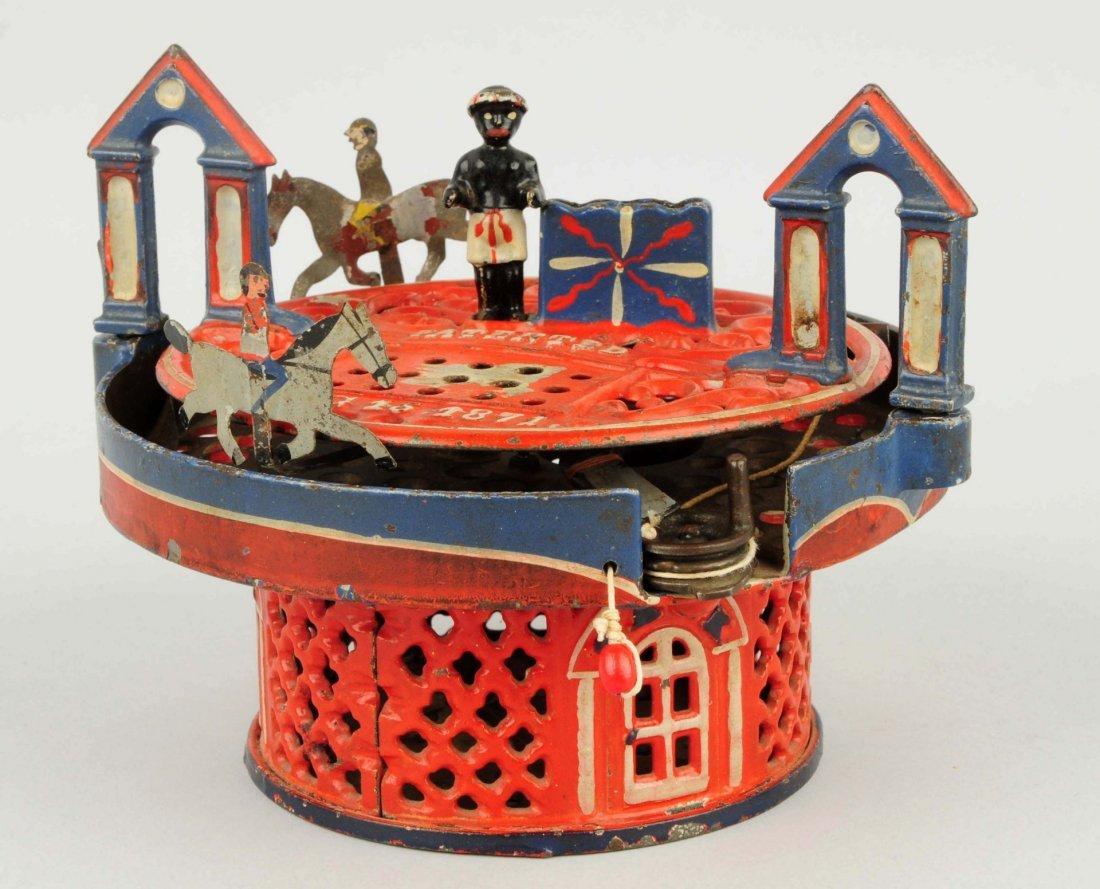 Horse Race Mechanical Bank with Original Box.