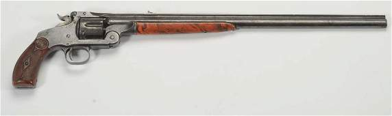 Smith & Wesson 320 Revolving Rifle.