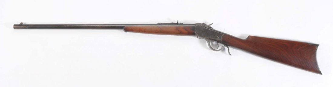 Winchester 1885 Low Wall .22 WCF Cal. Rifle. ** - 2