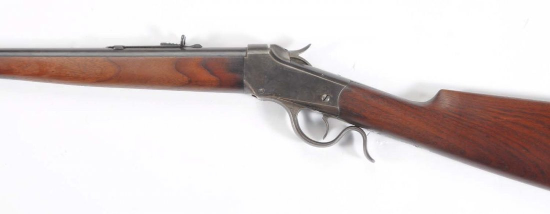 Winchester 1885 Low Wall .22 WCF Cal. Rifle. ** - 7