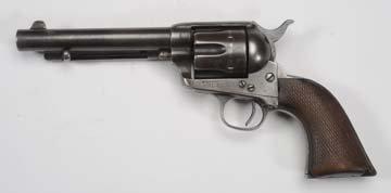 U.S. Colt SAA Artillery Model .45LC Revolver. - 2