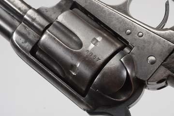 U.S. Colt SAA Artillery Model .45LC Revolver. - 3