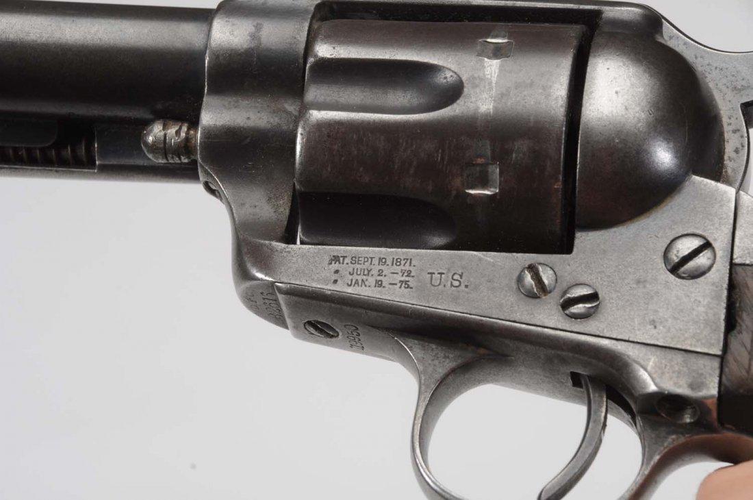 U.S. Colt SAA Artillery Model .45LC Revolver. - 5