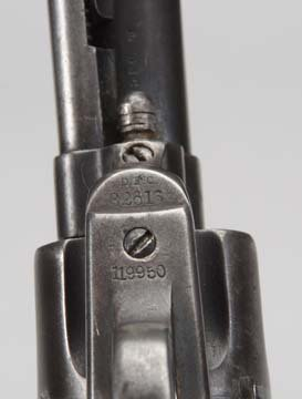 U.S. Colt SAA Artillery Model .45LC Revolver. - 6