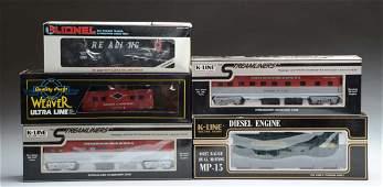 K-Line, Weaver, Lionel Loco & Rolling Stock.